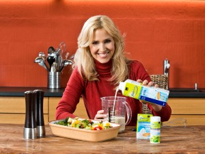 Coop Werbebotschafterin Claudia Lässer